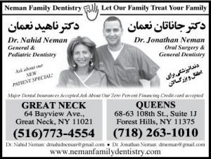 Dr. Nahid Neman, Dr. Jonathan Neman
